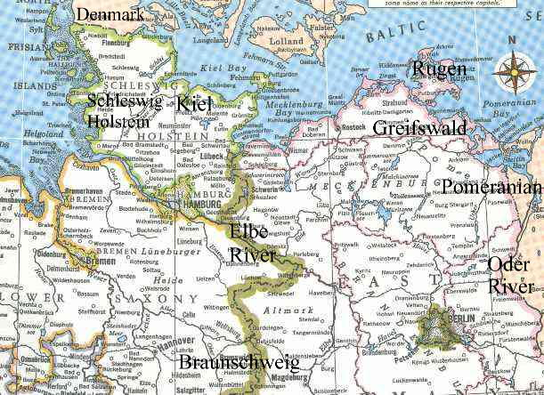Current Map Of Germany.History Kof Ancestors Chapter1
